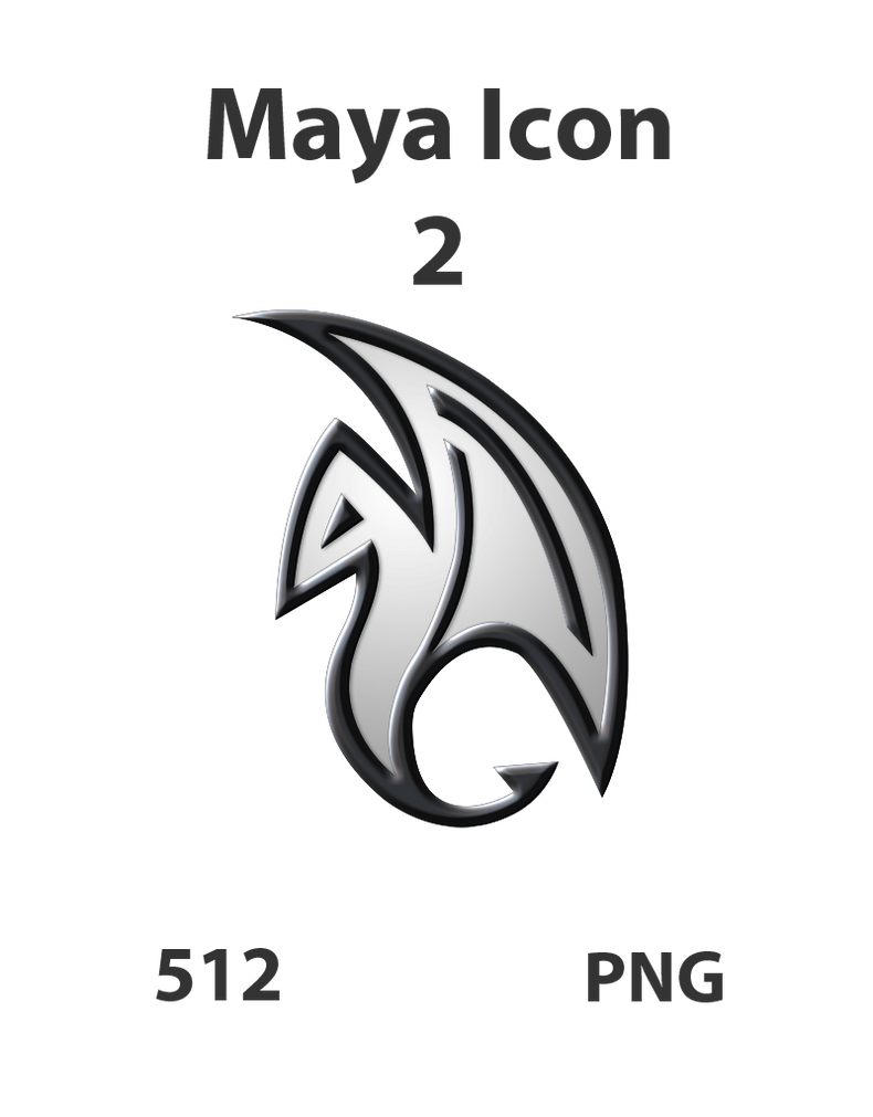 Maya Icon 2 by GreasyBacon