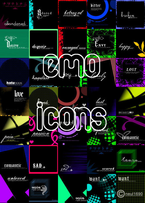 Emo Icons by neul1690