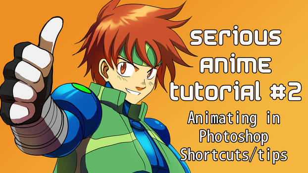 Anime tutorial - animating in photoshop
