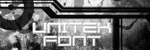 UniTek font by Xa0tiK