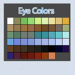 Eye Color Swatches