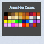 Anime Hair Colors
