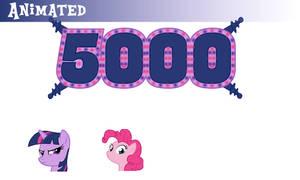 5000 Followers Splash by TheeLinker
