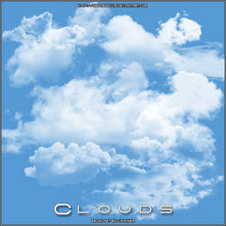 Brush Set - Clouds v1 by Ryoku15