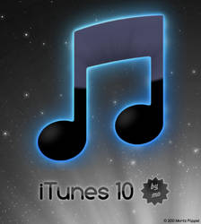 iTunes 10 icon by Mooonsterz