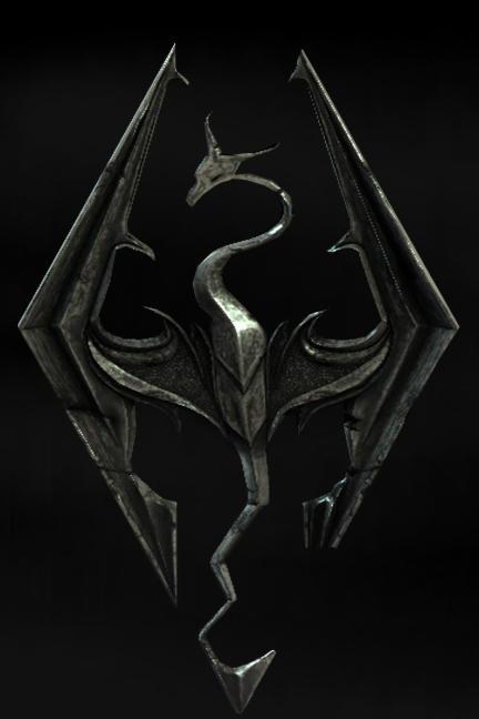 Skyrim Dragon Brush For Gimp By Blackwidow121493 On Deviantart
