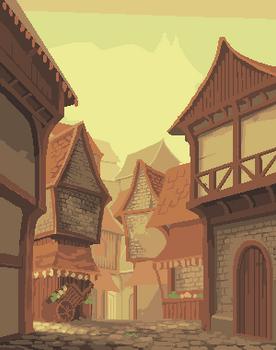 Scrapped Generic Fantasy Street