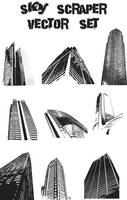 Buildings Vector set by Thegoldenmane