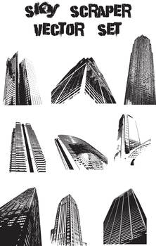 Buildings Vector set