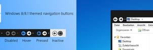 Windows 8/8.1 Themed Navigation Buttons