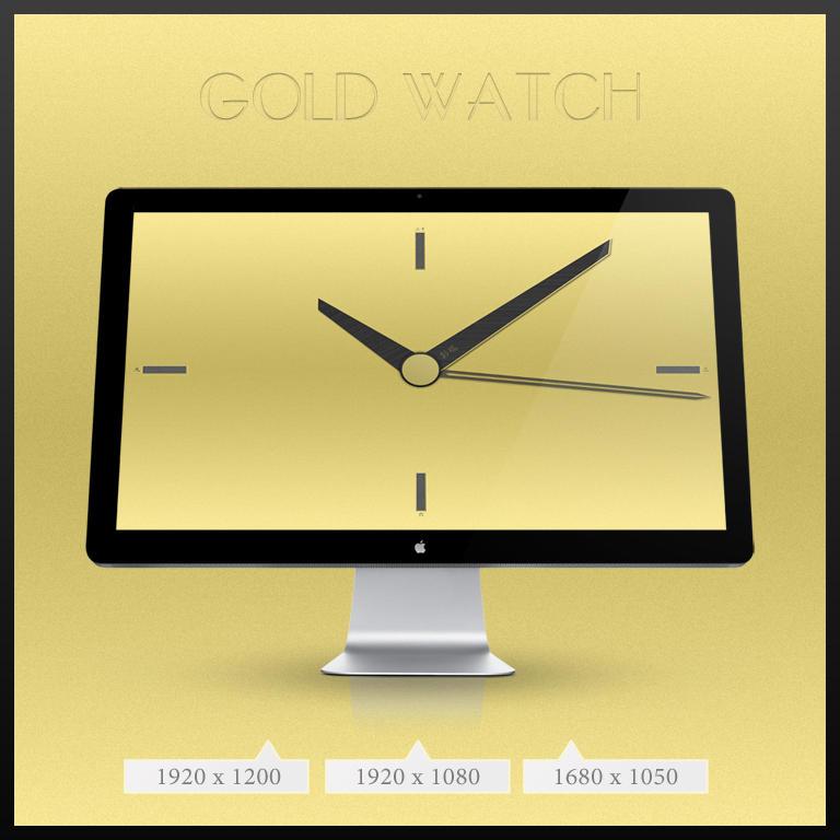 Golden Clock by Jogirider