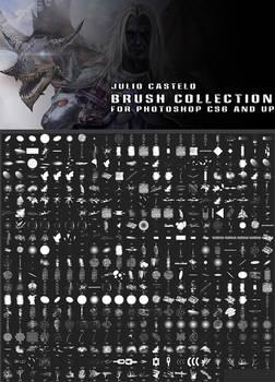 Julio Castelo Brush Collection for Photoshop CS6 a