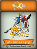 Gundam Build Fighters Anime Icon by AnotherAizen14