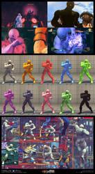 Twelve x Ryu - pfunkk.deviantart.com by PFunkk