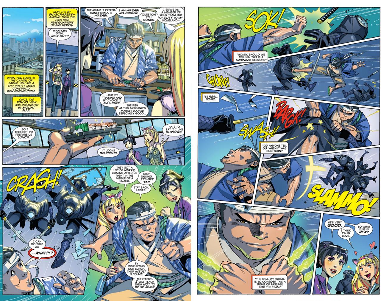 Big Hero Comic big hero 6 comic page 7bluehoung617 on deviantart