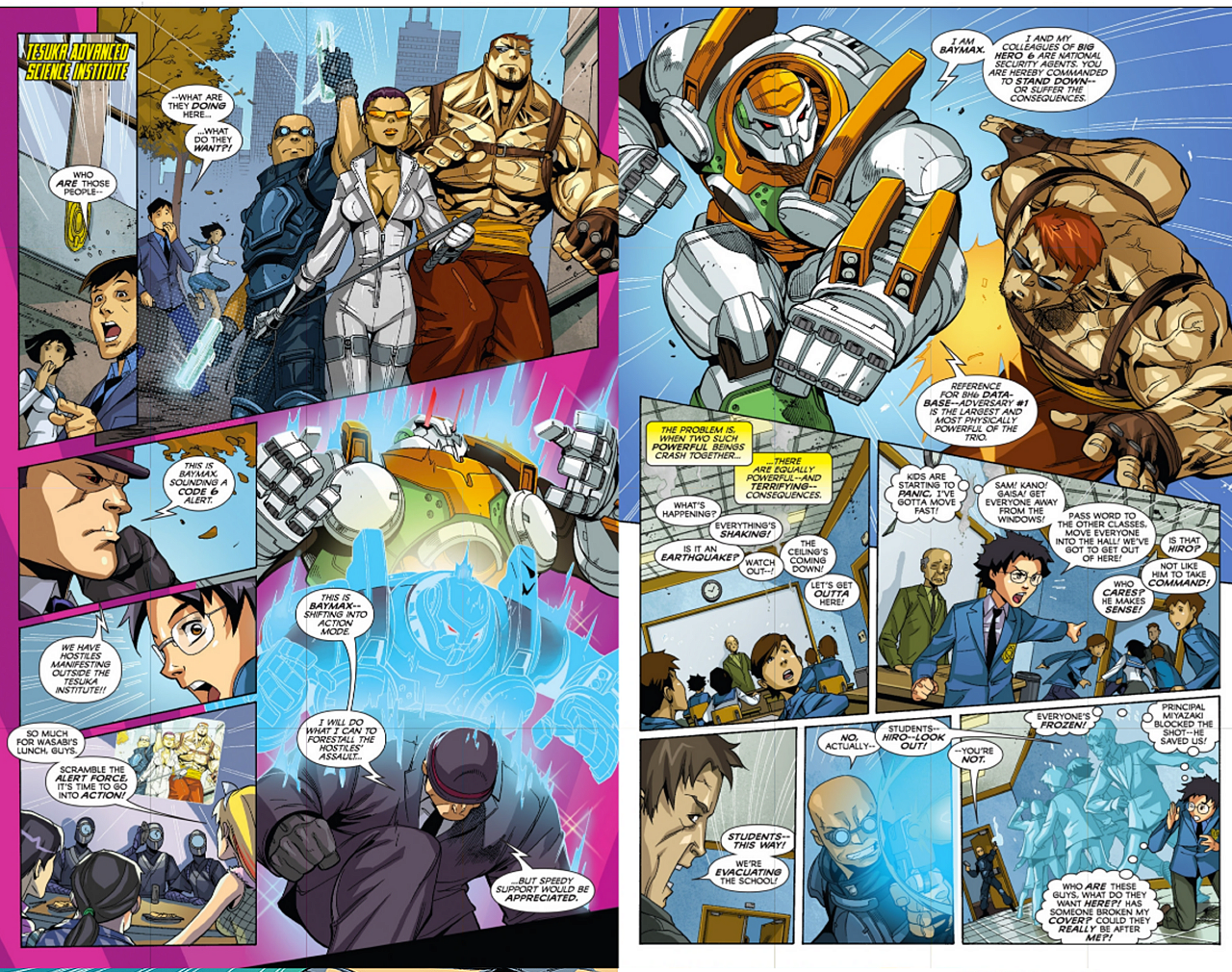 Big Hero Comic big hero 6 comic page 8bluehoung617 on deviantart
