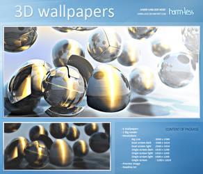3D Wallpaper by Harm-Less