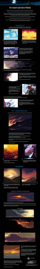 Tutorial - Learning how to paint clouds