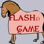 dress-up the horse game