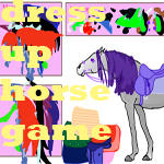 dress up horse game