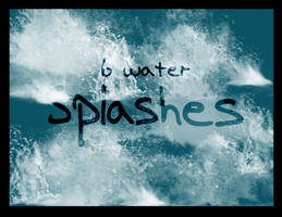 Water Splashes and Sprays by Shibies