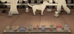 Cardboard dock by deea19