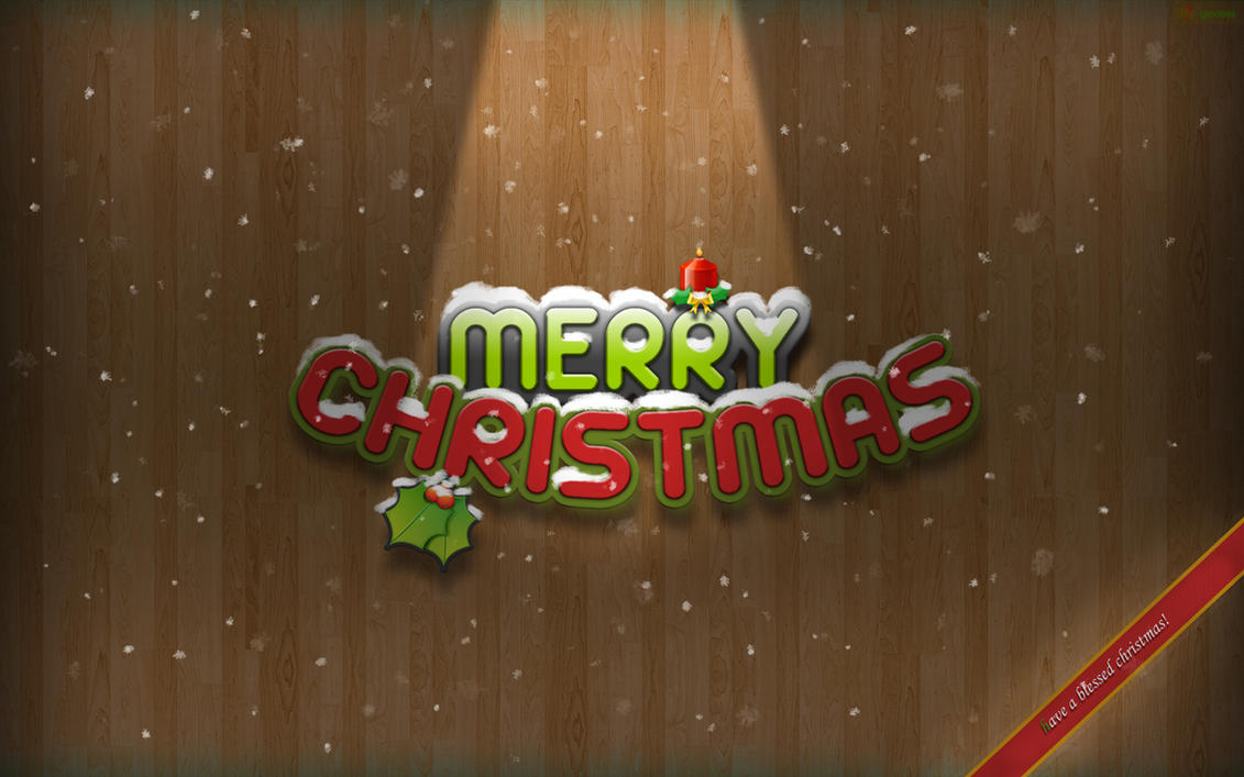 Christmas wallpaper by gio0989