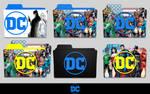 New DC Logo Folder Icon Pack