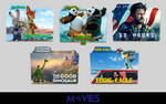 Random Movies Folder Icon Pack #2