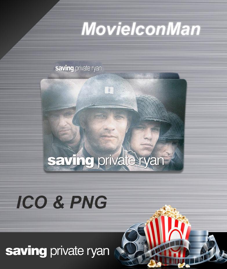 Saving Private Ryan 1998 Folder Icon By Movieiconman On Deviantart