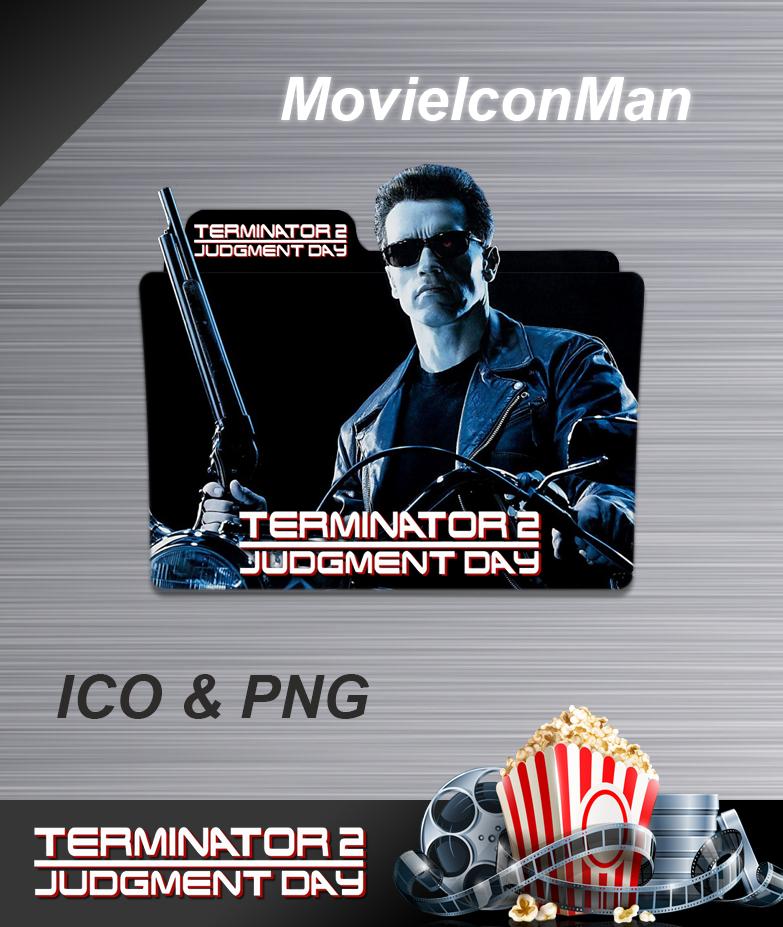 Terminator 2 Judgment Day 1991 Folder Icon By Movieiconman On Deviantart