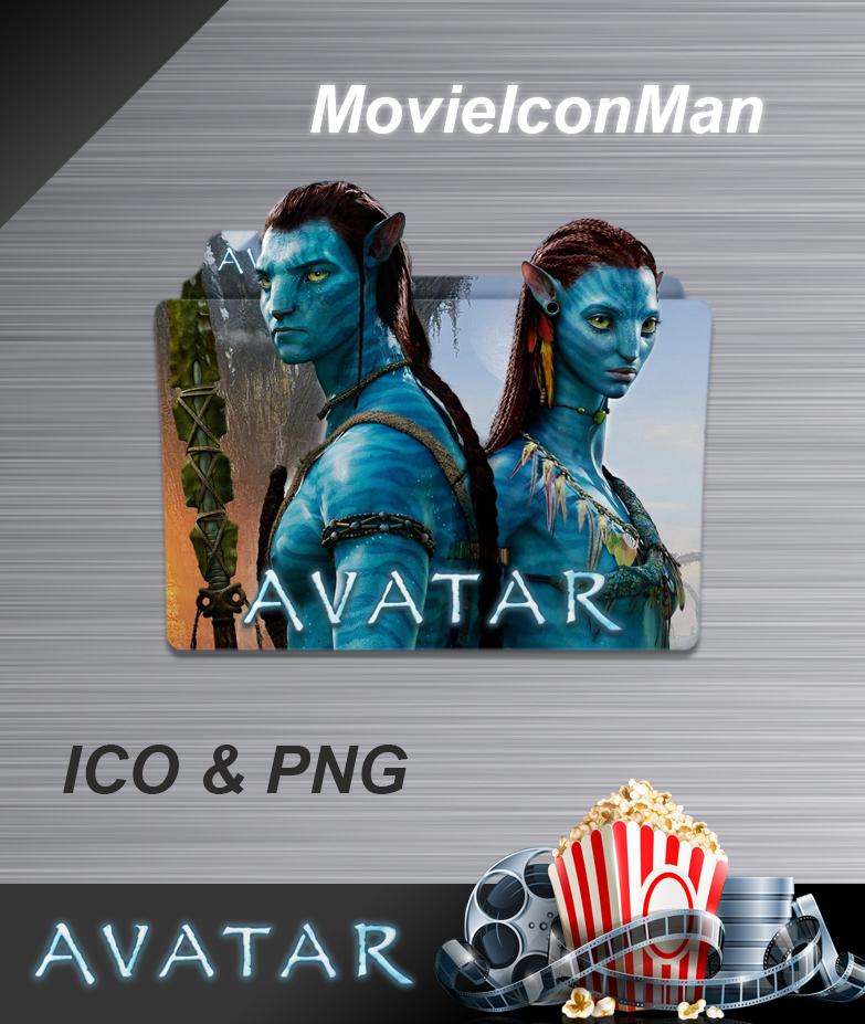 Avatar 2009 Film: Avatar (2009) Folder Icon By MovieIconMan On DeviantArt