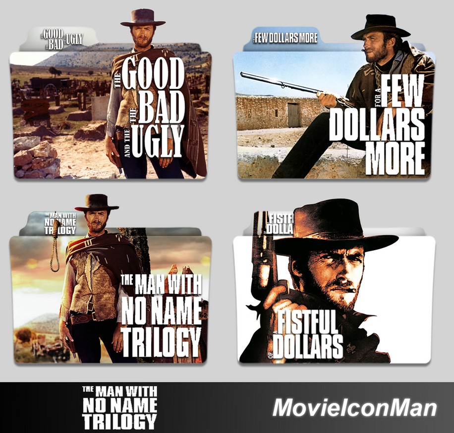 The Man With No Name Trilogy Folder Icon Pack by ...