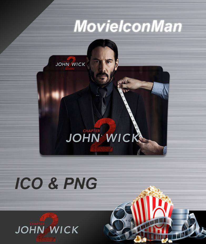 John Wick Chapter 2 2017 Folder Icon By Movieiconman On Deviantart