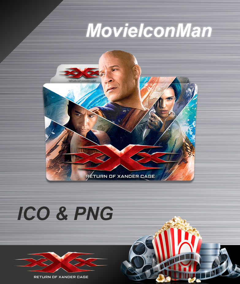 Xxx Return Of Xander Cage 2017 Folder Icon By Movieiconman On Deviantart