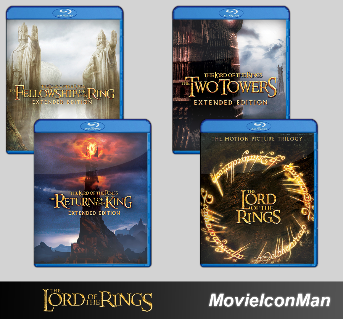 Lord of The Rings Folder Icon Pack (Blu-ray)