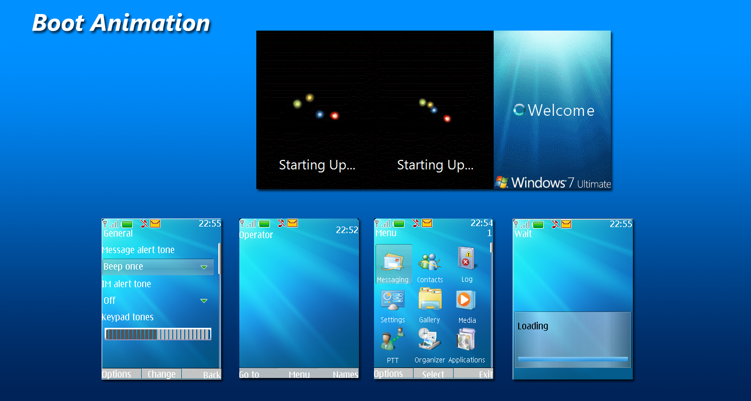 Download Windows 7 Theme for Windows Mobile