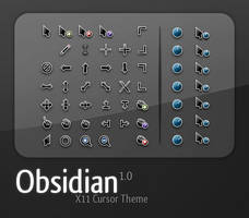 Obsidian Cursor Set -FIXED- by ozzy8031