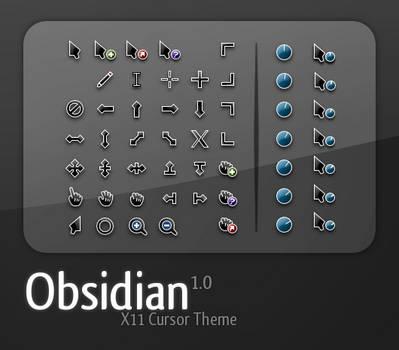Obsidian Cursor Set -FIXED- by ozzy8031
