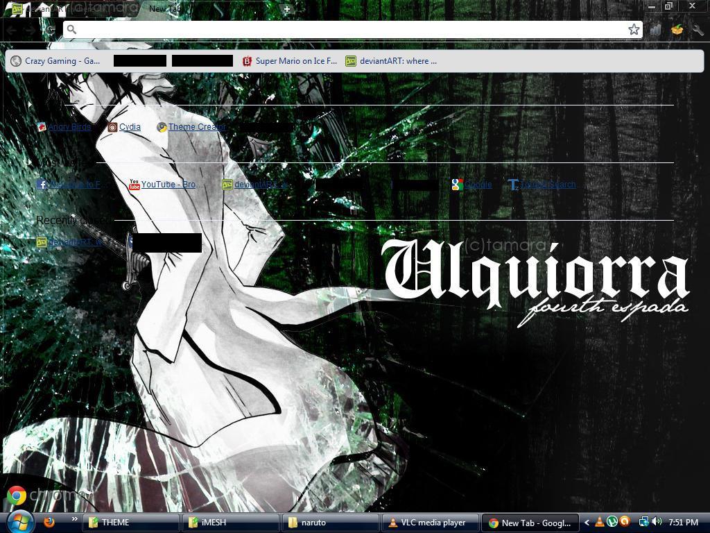 Google themes bleach - Bleach Ulquiorra By I4gs