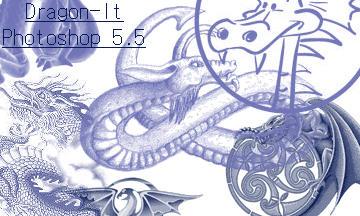 Dragon-It Brushes by amara1679