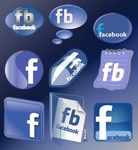 Facebook Icon Set by rohman24