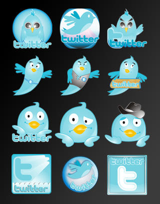 Twitter Icon Set by rohman24