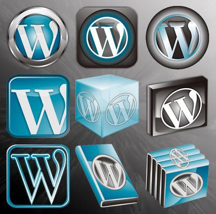 Wordpress Icon Set by rohman24