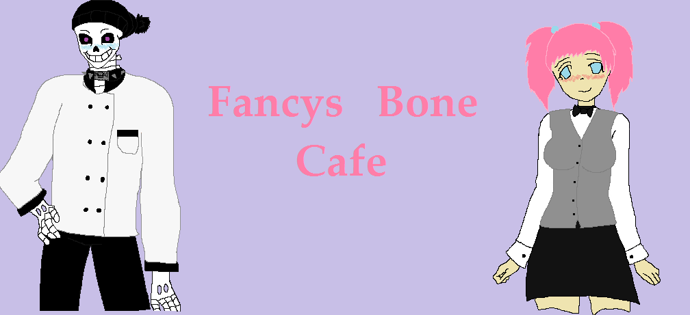 Fancy's Bone Cafe Menu by spidyphan2