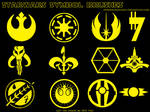 Star Wars Symbol Photoshop Brushes