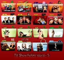 TV Folder Icons ColorFlow . Set 5 by ashtray4241