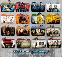 TV Folder Icons ColorFlow . Set 6 by ashtray4241