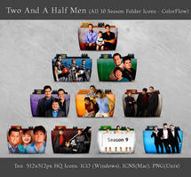 Two And A Half Men (All Seasons) Folder Icons