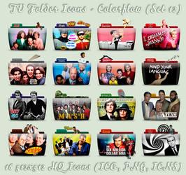 TV Folder Icons (Older Shows) ColorFlow . Set 12